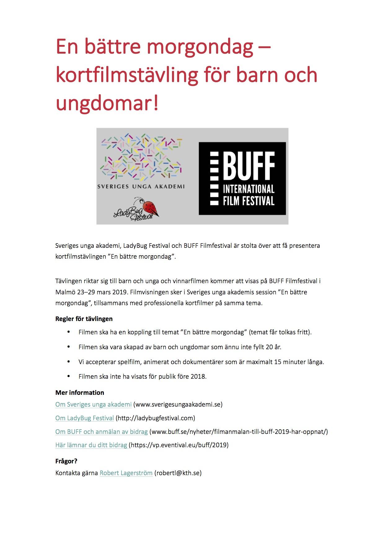 Fragesport pa goteborgs filmfestival